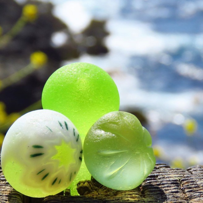 photography seaglass balls tidecharmers