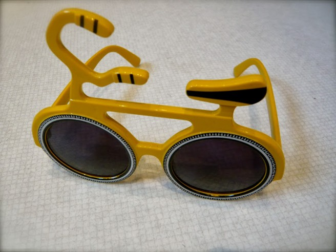 bicycle funny glasses picture