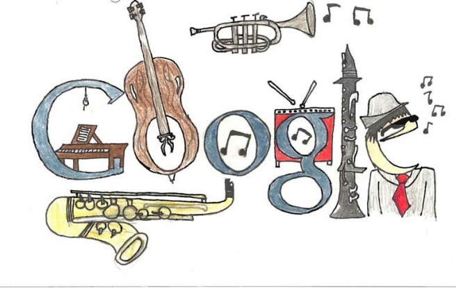 funny annual doodle google contest