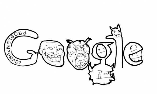 funny google doodles