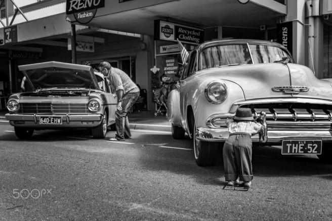 funny candid photography vintage cars sasha ivanovic