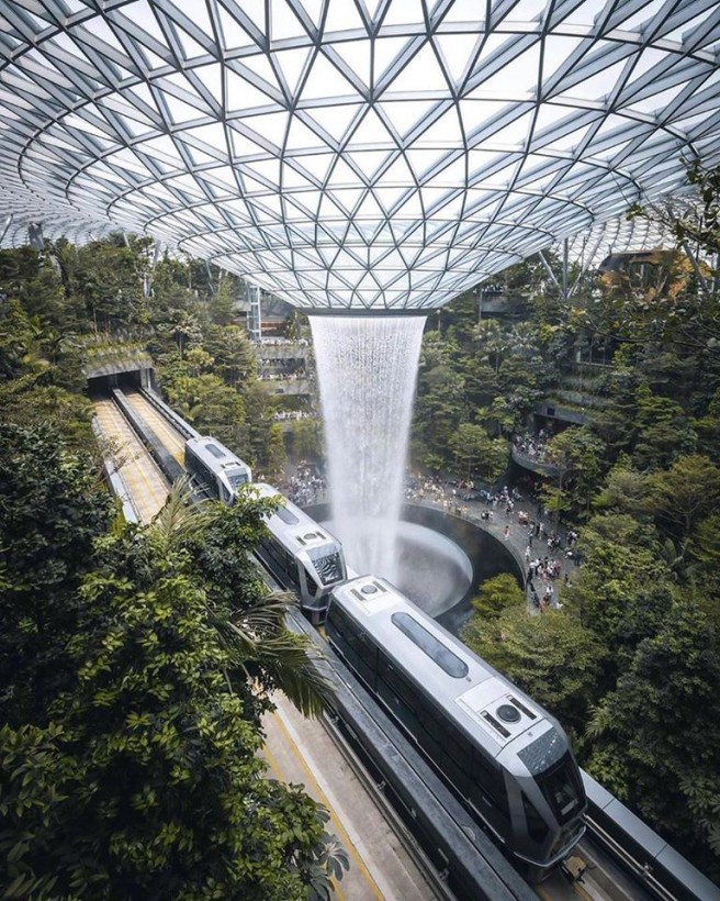 amazing picture architecture design singapore airport