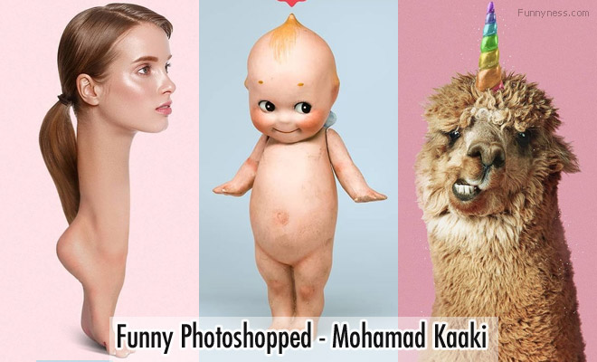 15 funny photoshopped images by graphic designer mohamad kaaki