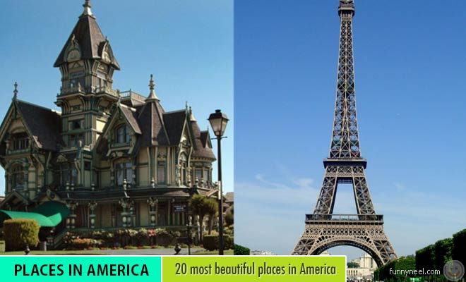 most beautiful places in america