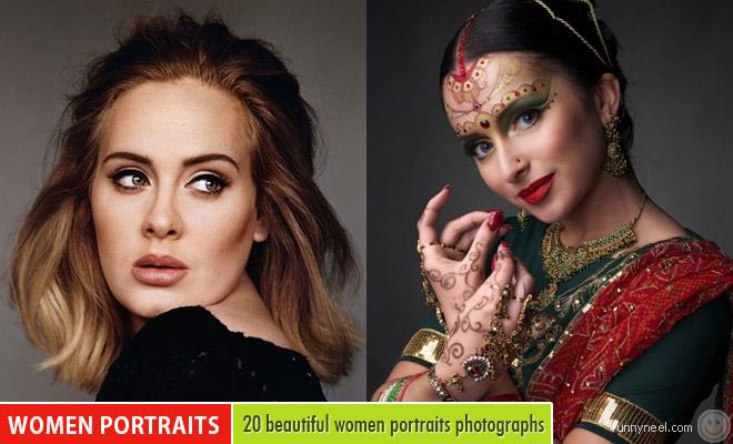 beautiful women portraits
