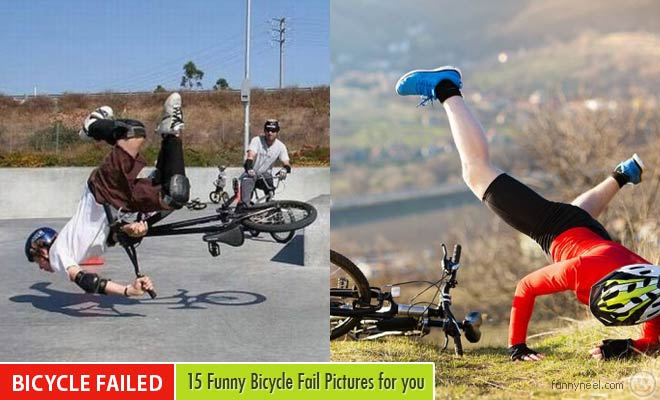 funny bicycle fail Pictures