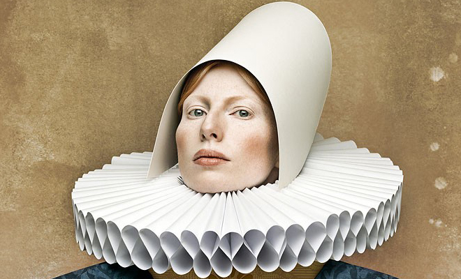 CardBoard Ladies - Unusual Photography concepts of  Christian Tagliavini