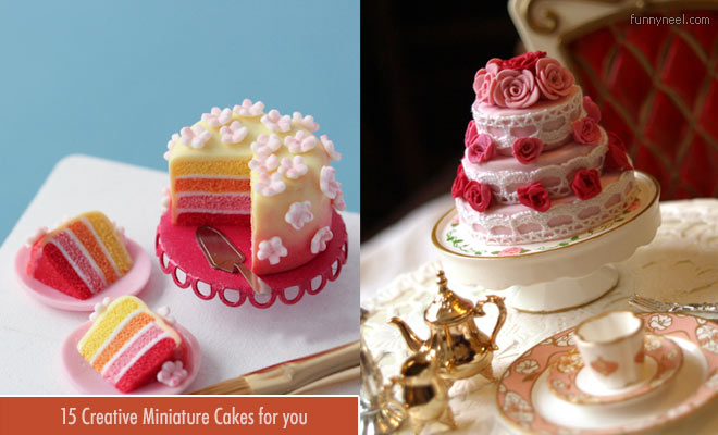 Creative Miniature Cakes