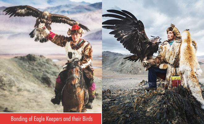 mongolian eagle keepers