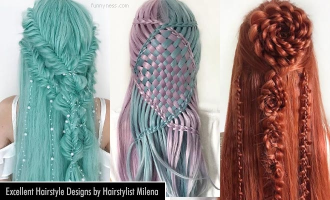 20 excellent hairstyle designs by hairstylist milena