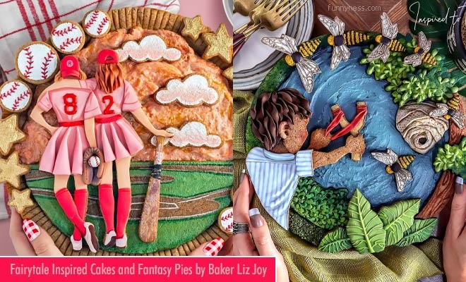 15 stunning fairytale inspired cakes and fantasy pies by baker liz joy