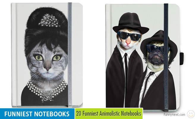 funniest animalistic notebooks