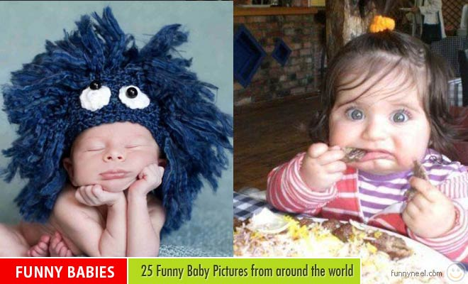 25 Latest Funny Baby Pictures from around the world
