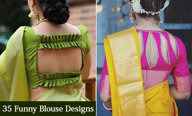 30 funny blouse designs where the designers ideas turned out crazy