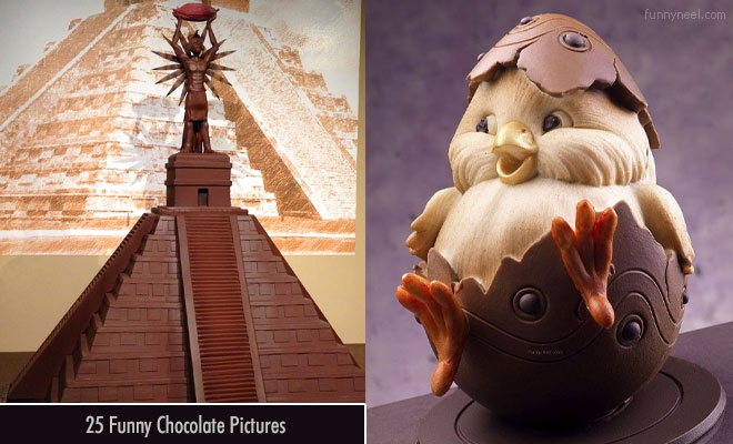 Funny Chocolate Pictures
