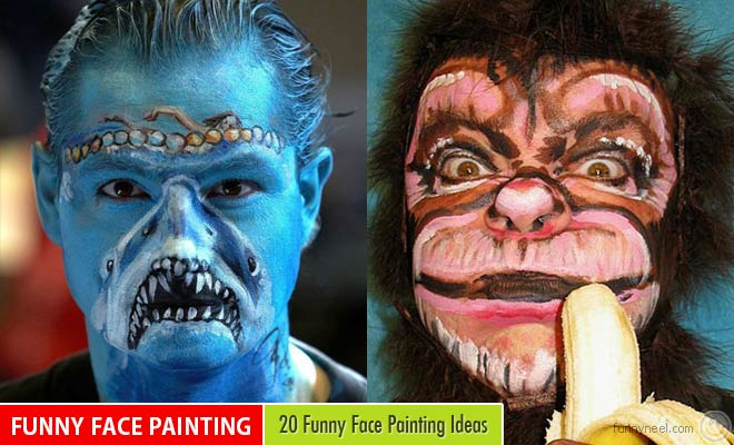 Funny Face Painting