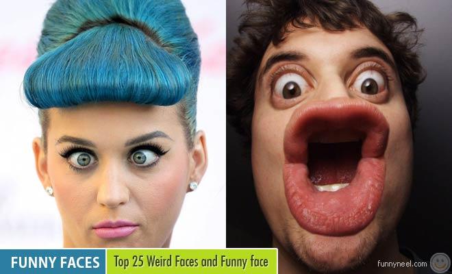 weird faces