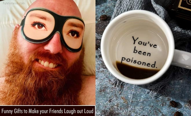 25 funny gifts to make your friends laugh out loud