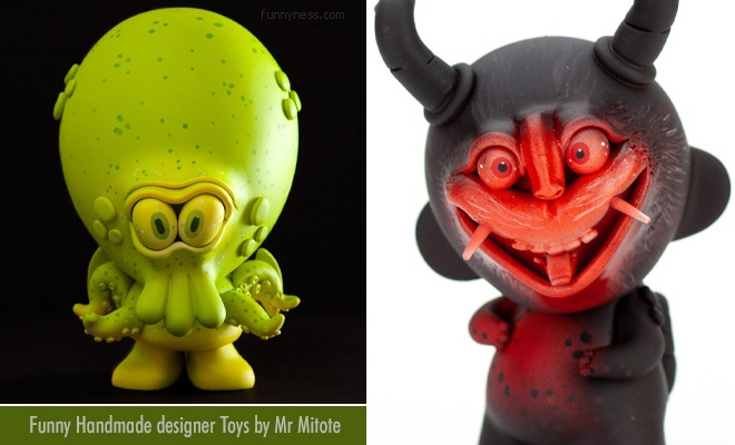 15 funny handmade designer toys by mexican sculptor mr mitote