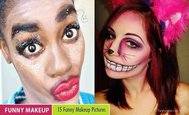 15 Funny Makeup Pictures