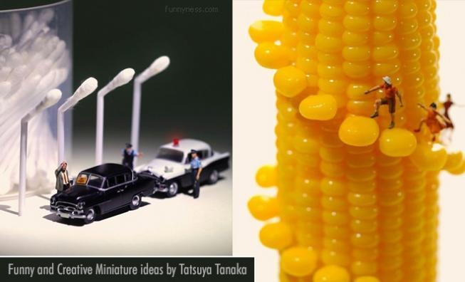 15 funny and creative miniature ideas by tatsuya tanaka