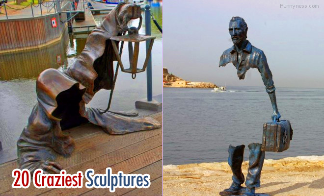 15 most craziest and creative sculptures from across the globe