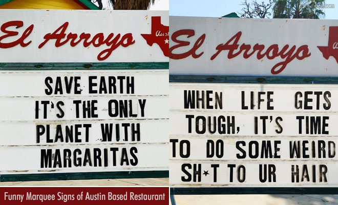 Funny Marquee Signs