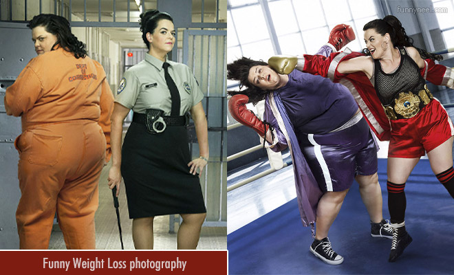 funny weight loss photography by blake morrow