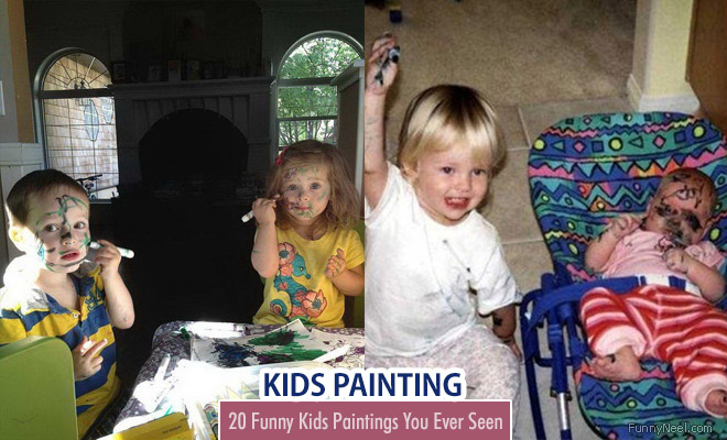 Funny Kids Painting