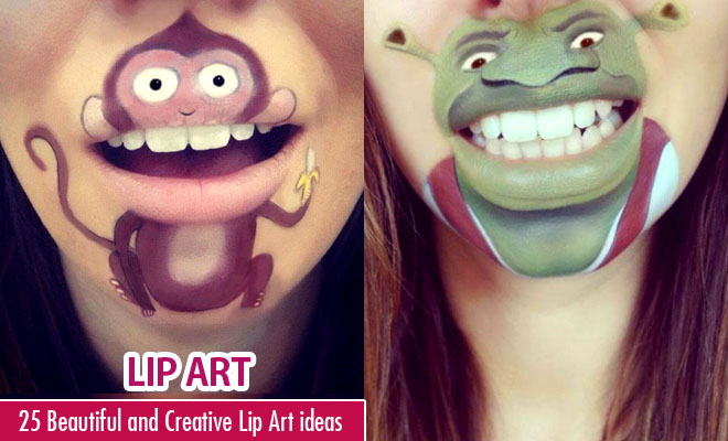 Creative Lip Art ideas