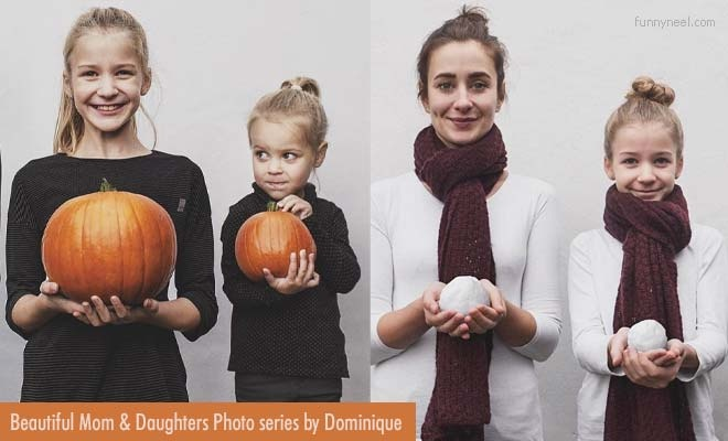 beautiful mothers and daughters photo series