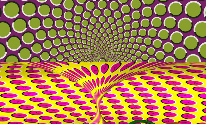 optical illusion graphic collection part 1