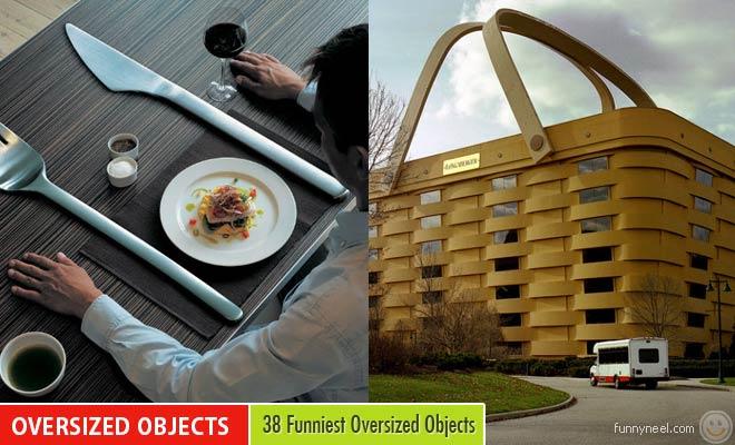 funniest oversized objects