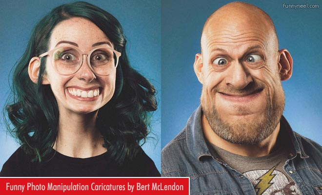 Funny Photomanipulation Caricatures