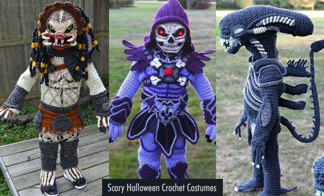 Scary Crochet Costumes