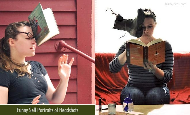 Funny Self Portrait of Headshots