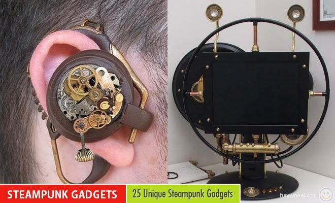 Unique Steampunk Gadgets