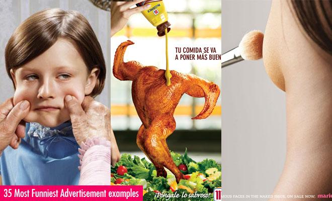 funny print ads
