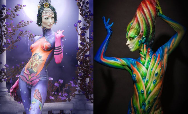 24 Beautiful Body Paintings from World Body Painting Festival