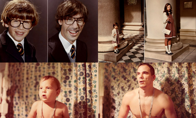 back to the future - 25 old and new photographs by irina werning