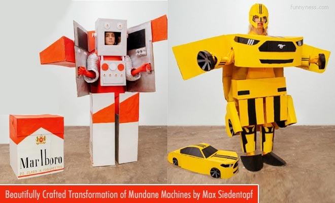 beautiful paper art crafts of mundane machines by max siedentopf