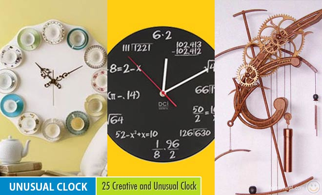 Unusual Clock Design