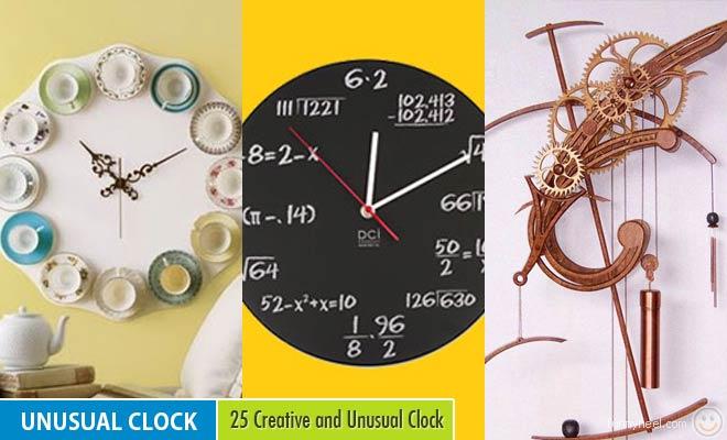 Unusual Clock Design