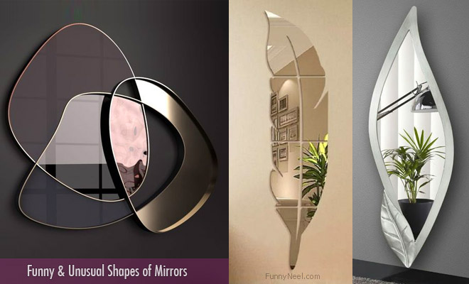 Unusal Shape of Mirrors