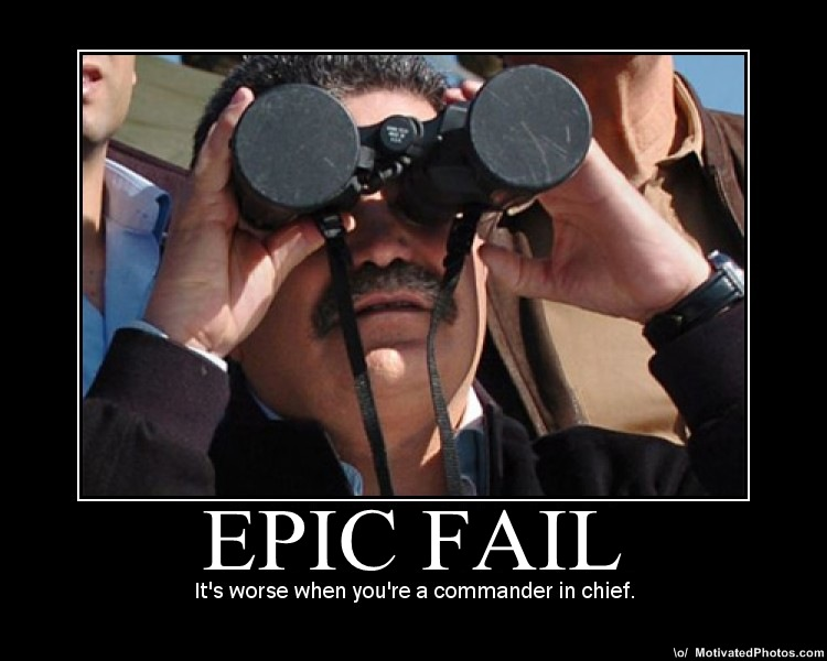 epic fail funny man watching microscope