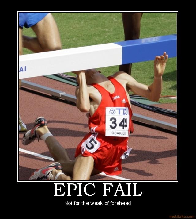 epic fail sports woman