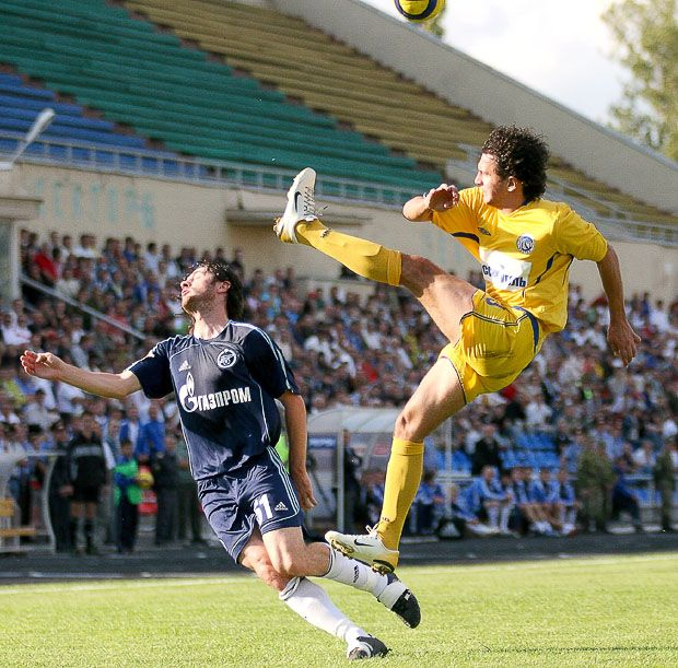 soccer neck kick sport funny fail