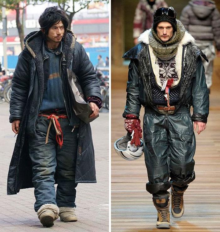 1 homeless guy looks like high fashion model similar funny photograpphy