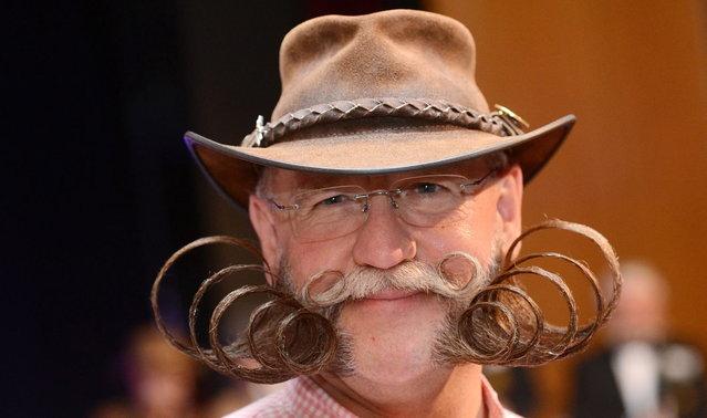man funny mustache