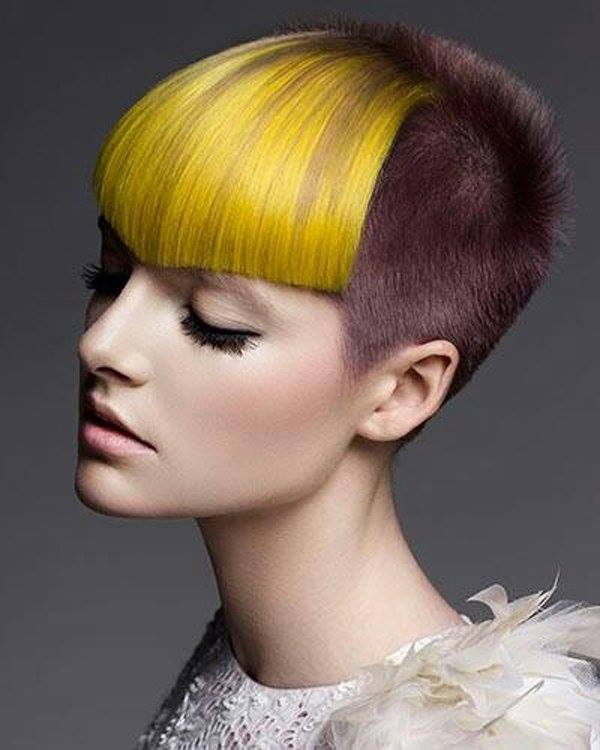 10 hot dyed hair funny photography